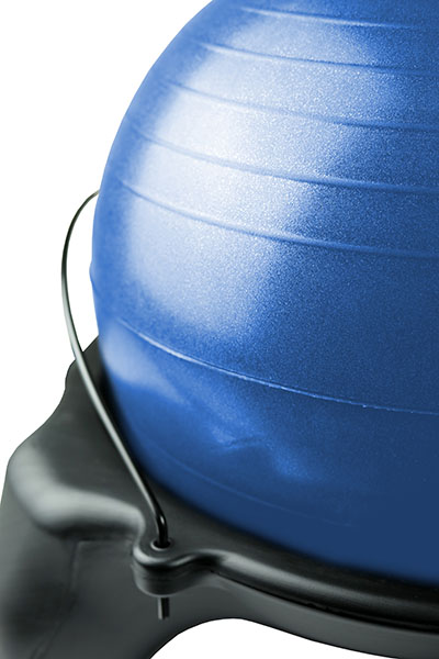 Replace Ball Black Adult-Size 52cm CanDo Ball Chair Accessory