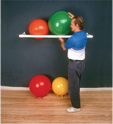 Inflatable Exercise Ball Storage