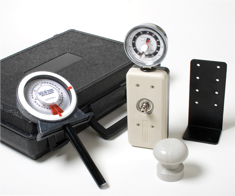Baseline wrist evaluation set, dynamometer and goniometer