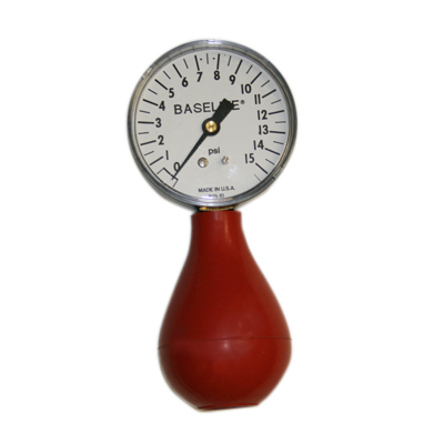 Baseline pneumatic (squeeze bulb) dynamometer (15 PSI)