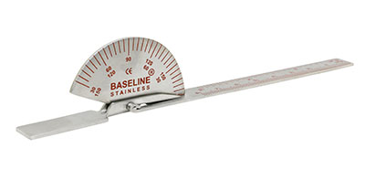 Baseline SS finger goniometer, 6 inches