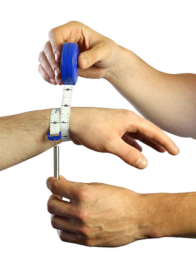 Baseline Gulick measurement tape, plastic case
