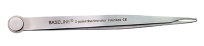 Baseline two-point discriminator (aesthesiometer), stainless steel