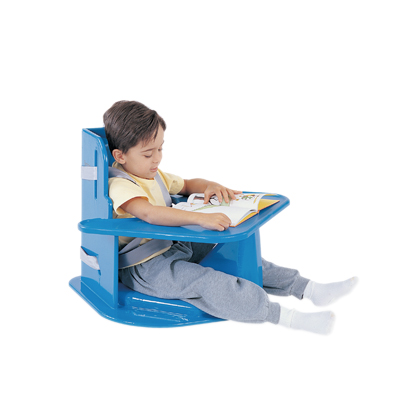 Tumble Forms� Corner Chair with tray