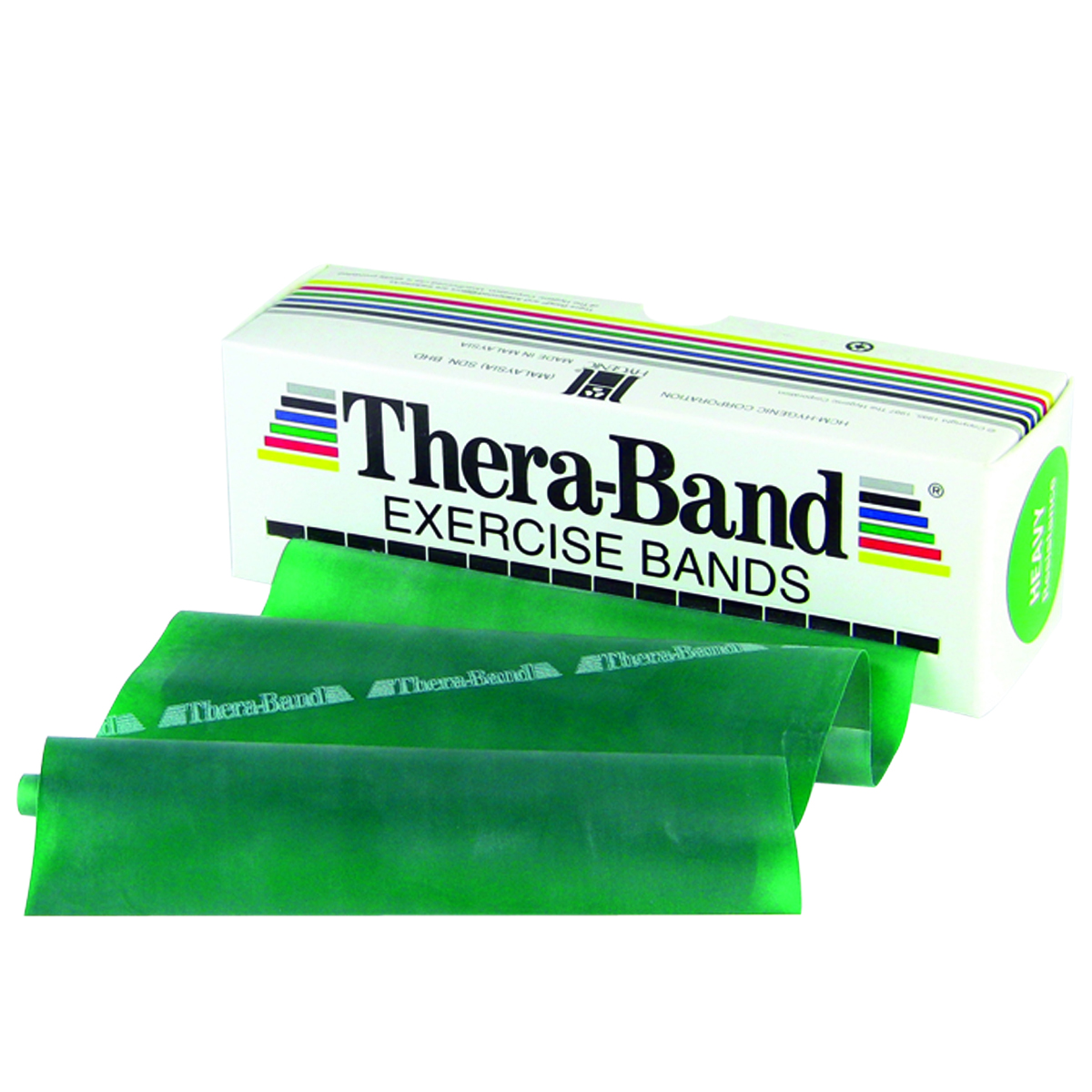 Thera-Band® Exercise Band 6 Yard Roll GREEN Heavy