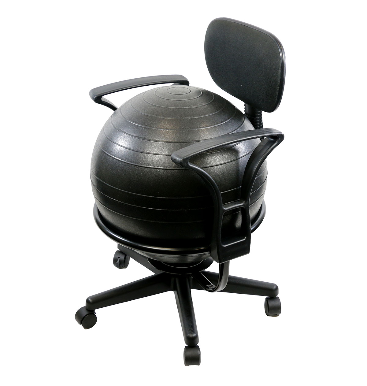 cando fitness body toning exercise seating fun workout ball office