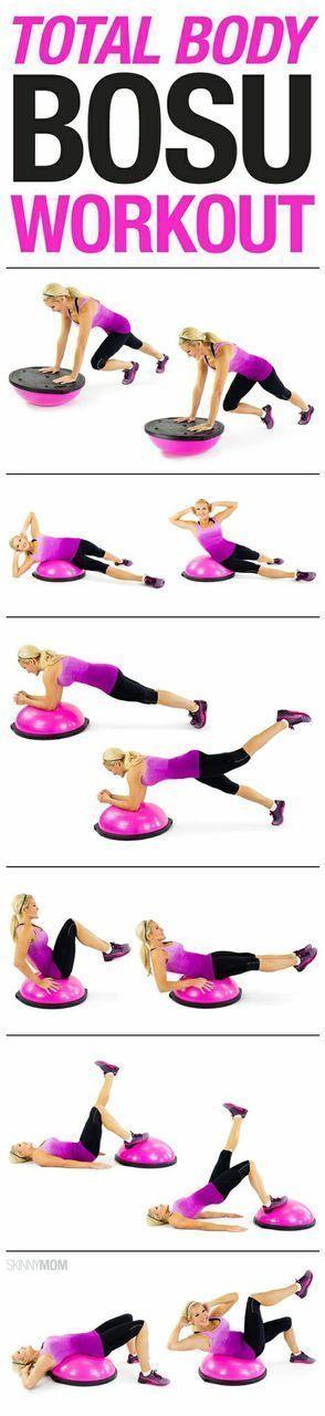 Infographic: Total body BOSU ball workout - Fabrication ...