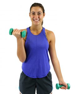 National Fitness and Sports Month - Dumbbells