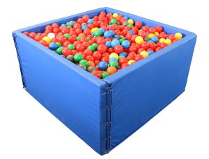 Indoor Halloween Fun with Sensory Ball Pits