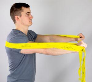 CanDo® Multi-Grip™ Exerciser - Chest Press