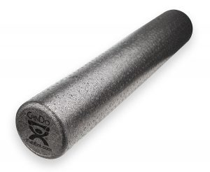 Fitness Resolution - CanDo® Black Composite Foam Rollers