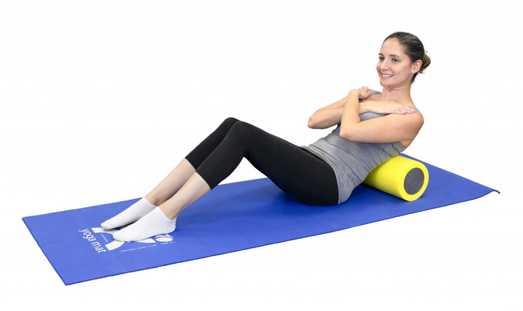 Improving Mobility with CanDo® - Thoracic Mobility Foam Roller Exercise