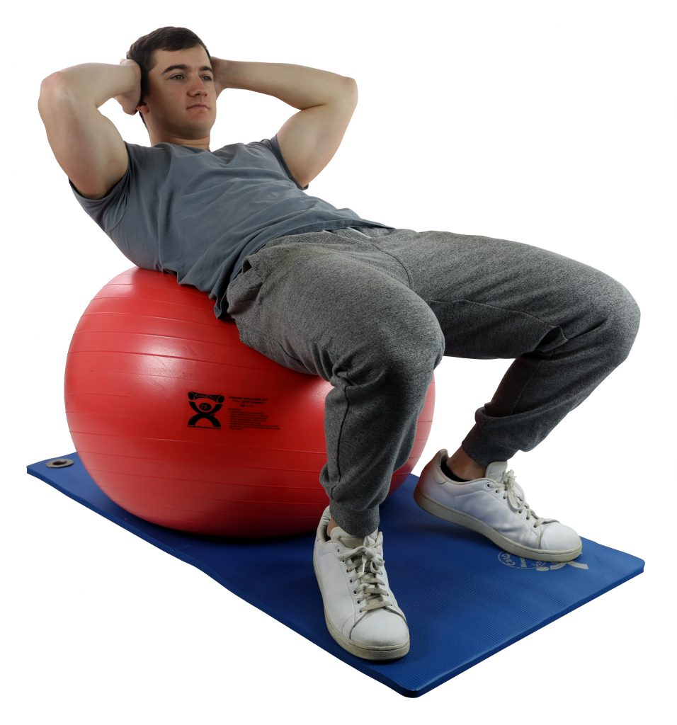 15 Minute Core Workout with the CanDo® Inflatable Ball