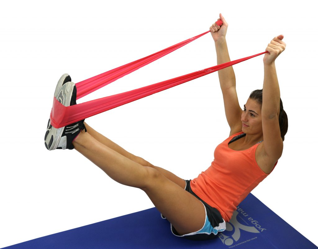 Stretching with CanDo® Resistance Bands