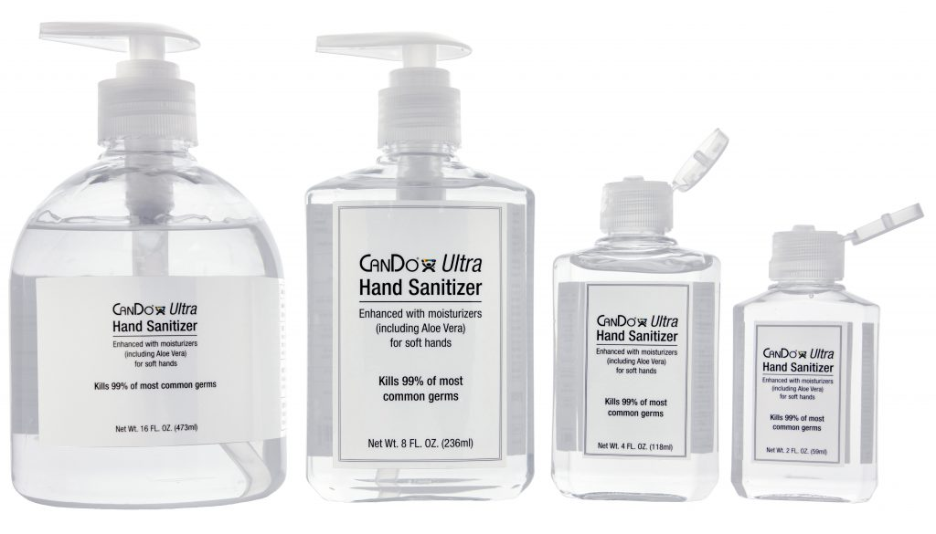 Important PPE Items for the Workplace  - CanDo® Ultra Hand Sanitizer